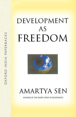 9780195655261: Development as Freedom [Paperback] by Amartya Sen