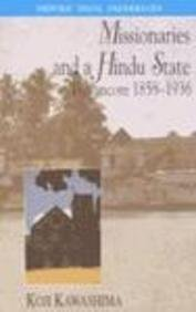 9780195655346: Missionaries and a Hindu State: Travancore 1858-1936 (Oxford India paperbacks)