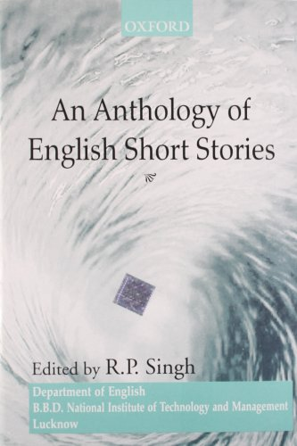 9780195656541: An Anthology Of English Short Stories