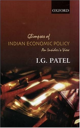 9780195658859: Glimpses of Indian Economic Policy: An Insider's View