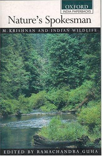 9780195659115: Nature's Spokesman: M. Krishnan and Indian Wildlife