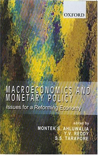 9780195661729: Macroeconomics and Monetary Policy: Issues for a Reforming Economy