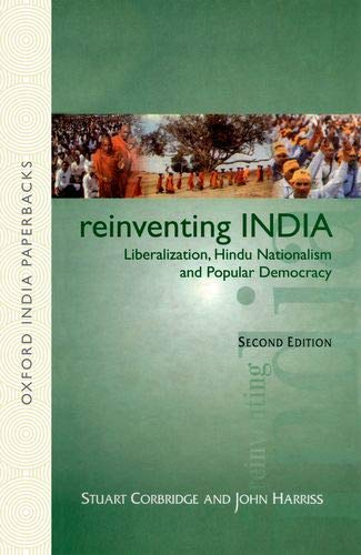 9780195662771: Reinventing India: Liberalization,Hindu Nationalism And Popular Democracy