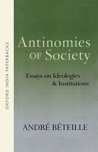 9780195663181: Antinomies of Society: Essays on Ideologies and Institutions