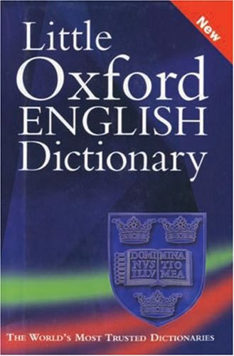 9780195664249: The Little Oxford English Dictionary