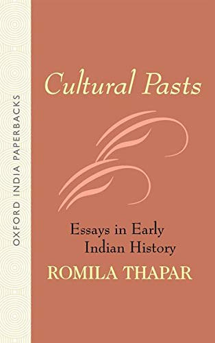 9780195664874: Cultural Pasts: Essays in Early Indian History