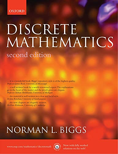 9780195667523: Discrete Mathematics (2nd, 02) by Biggs, Norman L [Paperback (2003)]