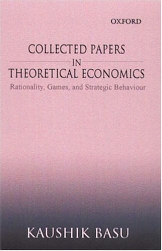9780195667622: Collected Papers In Theoretical Economics: Volume II: Rationality, Games, and Strategic Behaviour