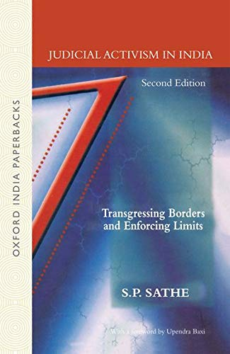9780195668230: Judicial Activism in India: Transgressing Borders and Enforcing Limits (Law in India Series)