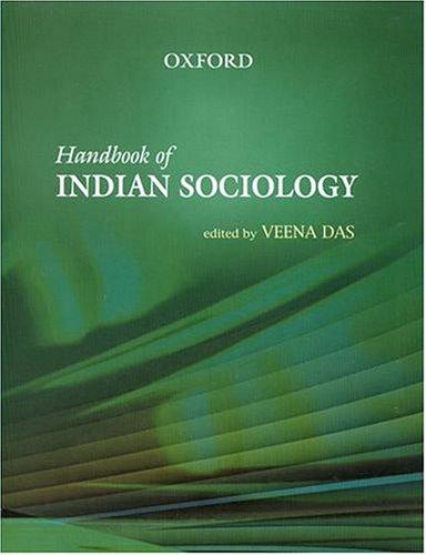 9780195668315: Handbook of Indian Sociology