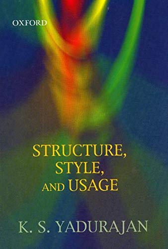 9780195668360: Structure, Style, and Usage