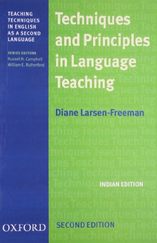9780195670158: Techniques and Principles in Language Teaching