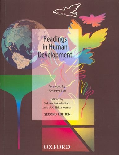 9780195670523: Readings in Human Development: Concepts, Measures and Policies for a Development Paradigm