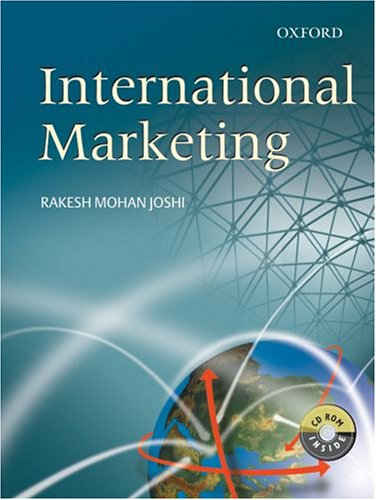 International Marketing: Rakesh Mohan Joshi