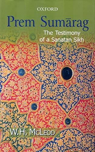 9780195671520: Prem Sumarag: The Testimony of a Sanatan Sikh
