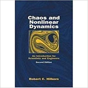 9780195671735: CHAOS AND NONLINEAR DYNAMICS: AN INTRODUCTION FOR SCIENTISTS AND ENGINEERS, 2ND EDITION