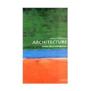 9780195671834: Architecture: A Very Short Introduction