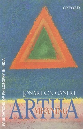 9780195671995: Artha: Meaning (Foundations of Philosophy in India)