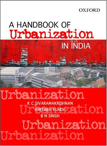 9780195672398: A Handbook of Urbanization in India