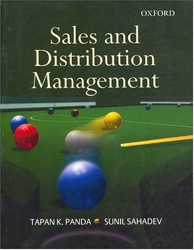 9780195673906: Sales and Distribution Management