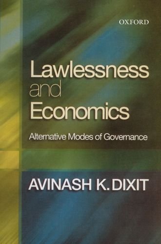 9780195678413: Lawlessness and Economics Alternative Modes of Governance