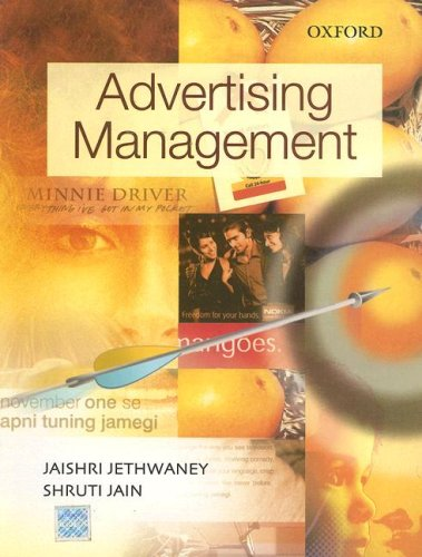 Advertising Management: Jethwaney, Jaishri, Jain,