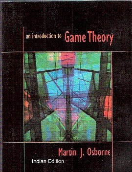 9780195681581: An Introduction to Game Theory Indian edition