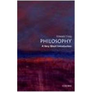 9780195681680: Philosophy: A Very Short Introduction