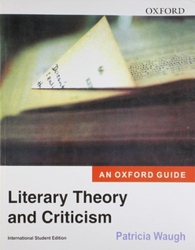 9780195685091: Oxford Literary Theory & Criticism