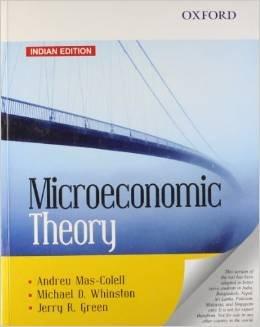 9780195685718: Microeconomic Theory