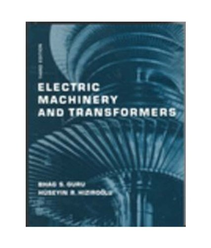9780195685770: ELECTRIC MACHINERY AND TRANSFORMERS 3ED
