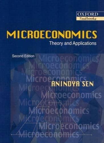 9780195686463: Microeconomics: Theory and Applicatons