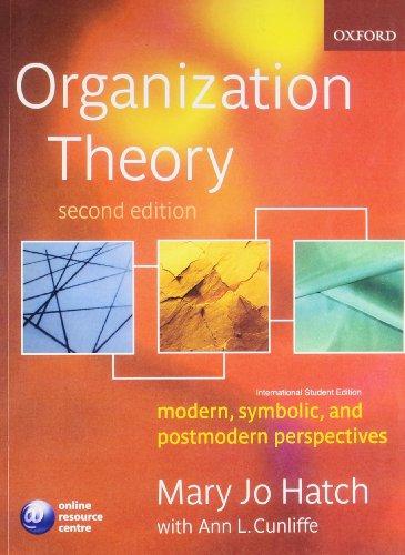 9780195686852: Organisation Theory