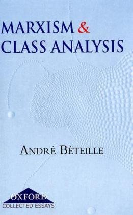 9780195686968: Marxism and Class Analysis