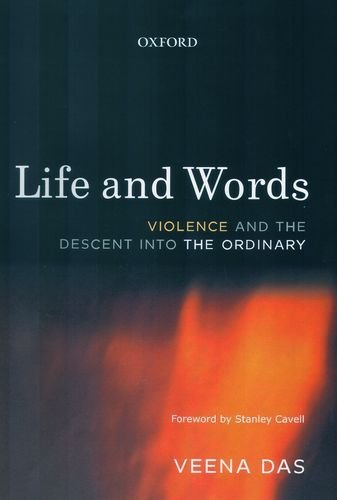 9780195687583: Life And Words Violence And The Descent Into The Ordinary