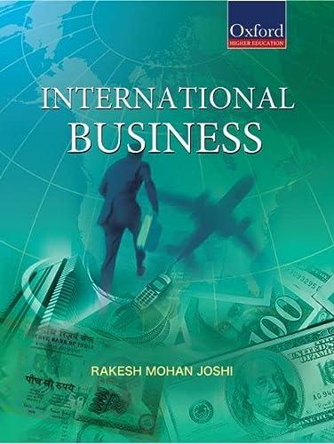 International Business: Rakesh Mohan Joshi