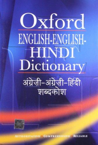 9780195689624: Oxford English-English-Hindi Dictionary
