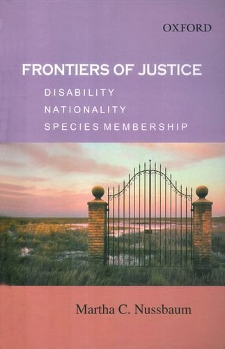 9780195690187: Frontiers of Justice: Disability, Nationality, Species Membership