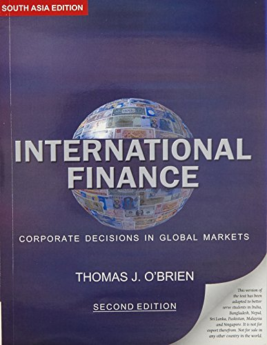 9780195690231: International Finance: Corporate Decisions in Global Markets