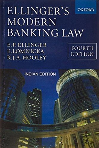 9780195691887: Ellinger's Modern Banking Law, 4th Edition