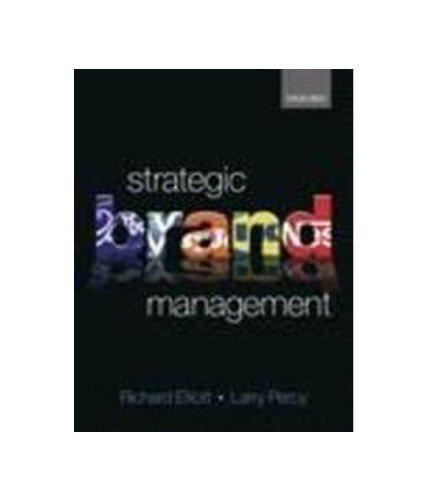 9780195692280: Strategic Brand Management