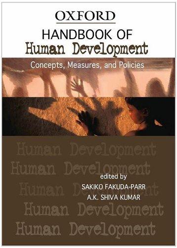 9780195692334: Handbook of Human Development: Concepts, Measures, and Policies