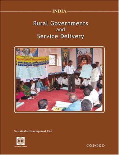 9780195692341: India: Rural Governments and Service Delivery