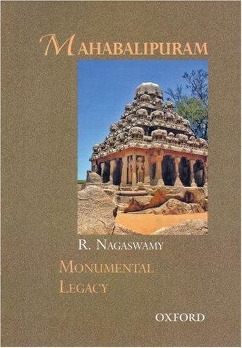 9780195693737: Mahabalipuram (Monumental Legacy)