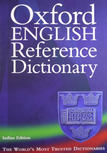 9780195694185: Oxford English Reference Dictionary, 2/E (Ie) (Hb 2008)