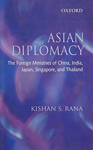 9780195694222: Asian Diplomacy: The Foreign Ministries of China, India, Japan, Singapore and Thailand