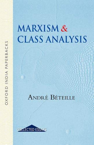 9780195697339: Marxism and Class Analysis (Oxford India Collection)