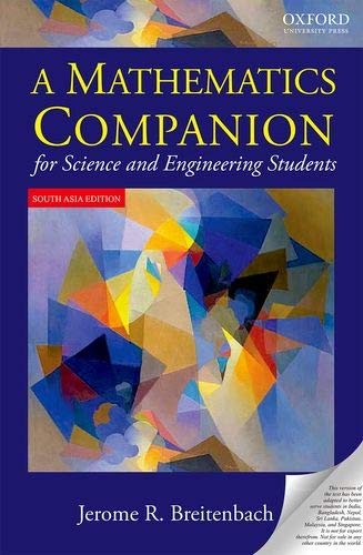 9780195698404: A Mathematics Companion for Science and Engineering Students