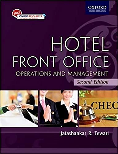 9780195699197: Hotel Front Office: Operations and Management (Oxford Higher Education)
