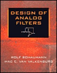9780195699296: Design of Analog Filters